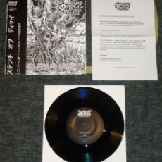 Dischi in vinile: STENCH OF DECAY - VISIONS BEYOND DEATH - 7 [JAPANESE VERSION]. Lote 52588215