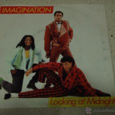 Discos de vinilo: IMAGINATION ( LOOKING AT MIDNIGHT - FOLLOW ME ) 1983 SINGLE45 R&B RECORDS. Lote 52591445