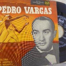 Discos de vinilo: PEDRO VARGAS -EP -RCA. Lote 52592036