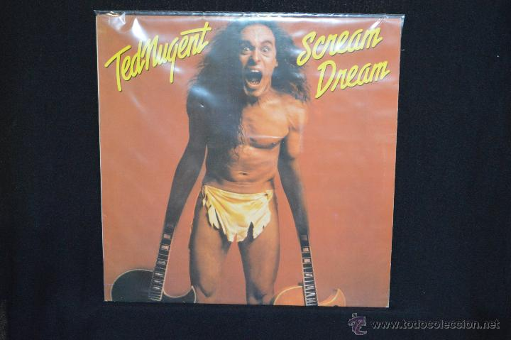 TED NUGENT - SCREAM DREAM - LP (Música - Discos - LP Vinilo - Heavy - Metal)
