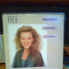Discos de vinilo: KYLIE MINOGUE MAXI SINGLE WOULDN`T CHANGE A THING. Lote 52594483