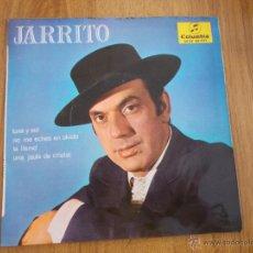 Discos de vinilo: JARRITO LUNA Y SOL. NO ME ECHES EN OLVIDO. LA LLAMÓ UNA JAULA DE CRISTAL EP. Lote 52595214