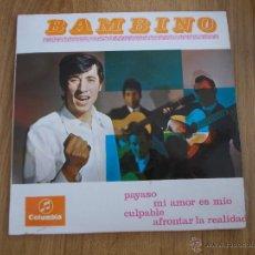 Discos de vinilo: BAMBINO. PAYASO EPS. Lote 52595630