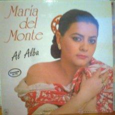 Discos de vinilo: MARIA DEL MONTE LP AL ALBA. Lote 52604829