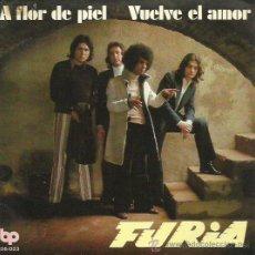 Discos de vinilo: FURIA SINGLE SELLO BP AÑO 1972. Lote 52605255
