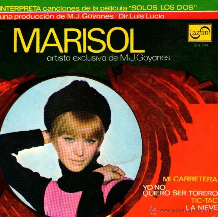 MARISOL - EP-SINGLE VINILO 7'' - EDITADO EN ESPAÑA - MI CARRETERA + 3 - ZAFIRO 1968 (Música - Discos de Vinilo - EPs - Solistas Españoles de los 70 a la actualidad)