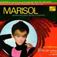 Discos de vinilo: MARISOL - EP-SINGLE VINILO 7'' - EDITADO EN ESPAÑA - MI CARRETERA + 3 - ZAFIRO 1968. Lote 52606999