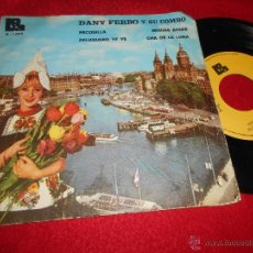 Discos de vinilo: DANY FERBO Y SU COMBO PECOSILLA/PELUQUERO YE YE/CHA DE LA LUNA/MEDIAS ROJAS EP 1974 BOA PROMO. Lote 52609027
