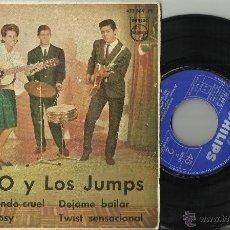 Discos de vinilo: MIMO Y LOS JUMPS EP ADIOS,MUNDO CRUEL + 3.1962. Lote 104276692