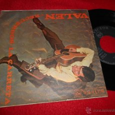 Discos de vinilo: VALEN LA CARRETA/RECUERDOS 7 SINGLE 1968. Lote 52609315