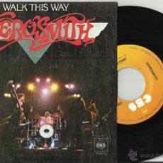 Disques de vinyle: AEROSMITH SINGLE WALK THIS WAY.ESPAÑA 1977.EN PERFECTO ESTADO. Lote 52609487