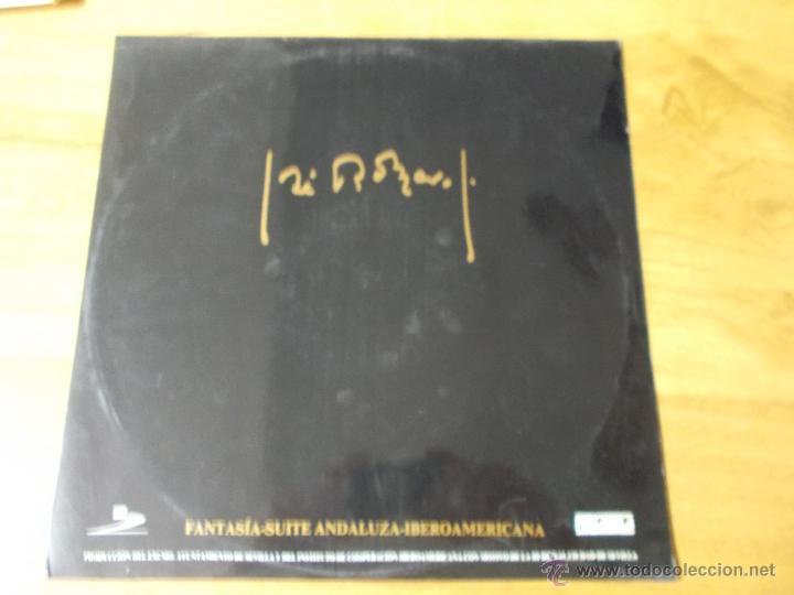 JOSÉ ROMERO. FANTASIA-SUITE ANDALUZA MAXI 12 (Música - Discos de Vinilo - Maxi Singles - Flamenco, Canción española y Cuplé)