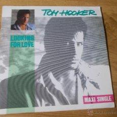 Disques de vinyle: TOM HOOKER MAXI 12. Lote 52613210