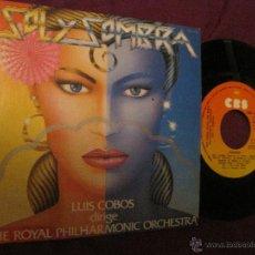 Discos de vinilo: LUIS COBOS -SOL Y SOMBRA/ PASODOBLES. Lote 52614070