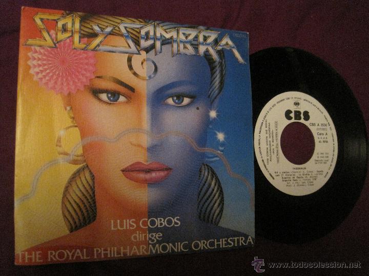 LUIS COBOS -SOL Y SOMBRA/ PASODOBLES PROMO (Música - Discos - Singles Vinilo - Clásica, Ópera, Zarzuela y Marchas)