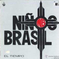 Discos de vinilo: NIÑOS DEL BRASIL. AMOR Y ESPINAS (VINILO MAXI-SINGLE 1990). Lote 52614813