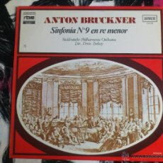 Discos de vinilo: ANTON BRUCKNER - SINFONIA Nº9 EN RE MENOR - SÜDDEUTSCHE PHILHARMONIE - LP - VINILO-COLECCION RTVE 75. Lote 52615282