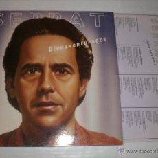 Discos de vinilo: JOAN MANUEL SERRAT - BIEN AVENTURADOS - LP CON ENCATE LETRAS, EXCELENTE ESTADO. Lote 52616187