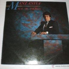 Discos de vinilo: MANZANITA - MAL DE AMORES - BUEN ESTADO DE USO. Lote 52616270