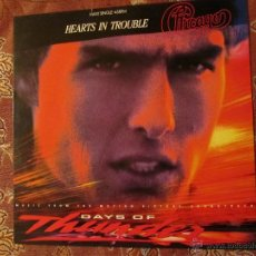 Discos de vinilo: DAYS OF THUNDER- MAXI-SINGLE DE VINILO- HEARTS IN TROUBLE- CON 3 TEMAS- ORIGINAL DEL 90- ¡¡¡NUEVO¡¡¡. Lote 52616886