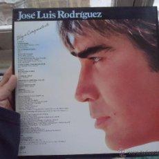 Discos de vinilo: DISCO VINILO LP - JOSE LUIS RODRIGUEZ. Lote 52617659