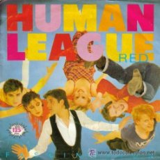 Discos de vinilo: HUMAN LEAGUE ?: FASCINATION. 7´´ SINGLE PROMO. EDICION ESPAÑOLA MUY RARA.. Lote 52620764