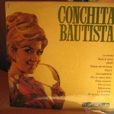 Discos de vinilo: CONCHITA BAUTISTA LP BELTER 1969 FLAMENCO POP RUMBA CAMP MUY POCO USO. Lote 52625597