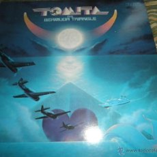 Discos de vinilo: TOMITA - THE BERMUDA TRIANGLE LP - ORIGINAL ALEMAN - RCA RECORDS 1979 - ORANGE LABEL - . Lote 52628125