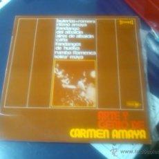 Discos de vinilo: CARMEN AMAYA - ARTE Y GENIO. Lote 52636937