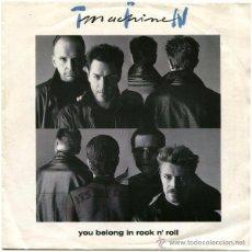 Discos de vinilo: TIN MACHINE (DAVID BOWIE) - YOU BELONG IN ROCK N' ROLL - SG HOLLAND 1991- LONDON RECORDS 869 402-7. Lote 52637319