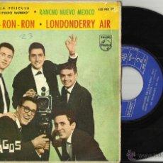 Discos de vinilo: LOS RELAMPAGOS EP MORE + 3.1963.ESCUCHADO. Lote 52639975