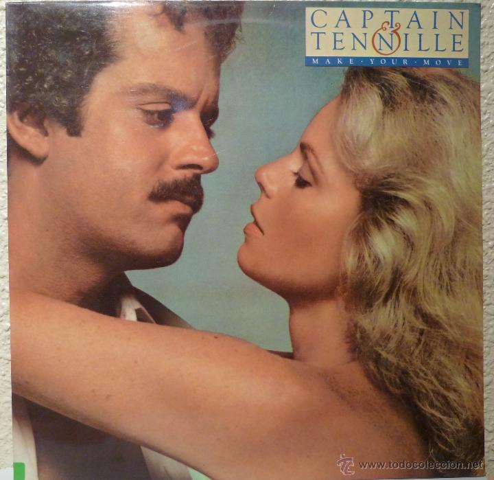 CAPTAIN & TENNILLE - MAKE YOUR MOVE (Música - Discos de Vinilo - EPs - Pop - Rock Extranjero de los 70)