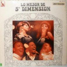 Discos de vinilo: LO MEJOR DE 5ª DIMENSION. Lote 52645613
