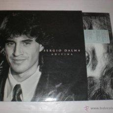 Discos de vinilo: SERGIO DALMA, ADIVINA . LP HORUS 1992, CON ENCARTE DE LETRAS, EXCELENTE ESTADO. Lote 52647888