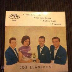 Discos de vinilo: LOS LLANEROS - EP CON CUATRO CANCIONES - 1961 - ZAFIRO. Lote 52659785