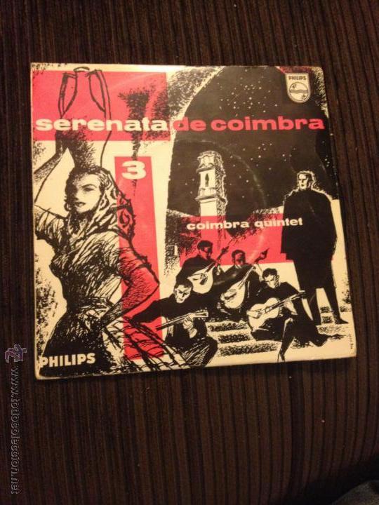 COIMBRA QUINTET - SERENATA DE COIMBRA 3 (Música - Discos de Vinilo - EPs - Étnicas y Músicas del Mundo)