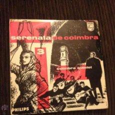 Discos de vinilo: COIMBRA QUINTET - SERENATA DE COIMBRA 3 . Lote 52661033