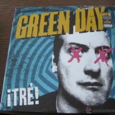 Discos de vinilo: GREEN DAY - ¡TRE! - LP REPRISE 2012 NUEVO. Lote 52662877