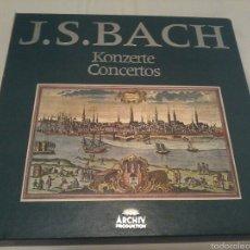 Discos de vinilo: J. S. BACH KONCERTE CONCIERTOS CAJA 11 LP ARCHIV PRODUKTION. Lote 52665903