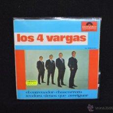 Discos de vinilo: LOS 4 VARGAS - EL ENTRENADOR + 3 - EP. Lote 52675014