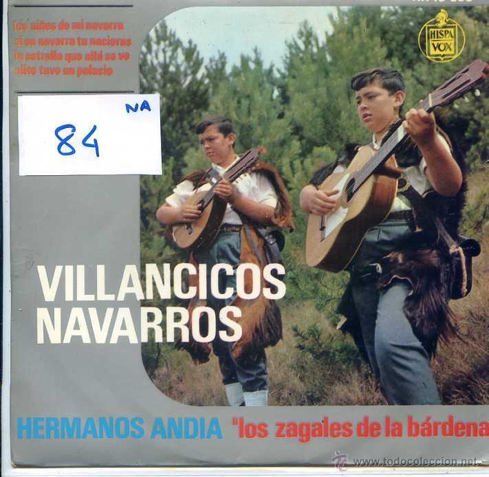 NAVIDAD - HERMANOS ANDIA - VILLANCICOS NAVARROS / LOS NIÑOS DE MI NAVARRA + 3 (EP 1963) (Música - Discos de Vinilo - EPs - Otros estilos)