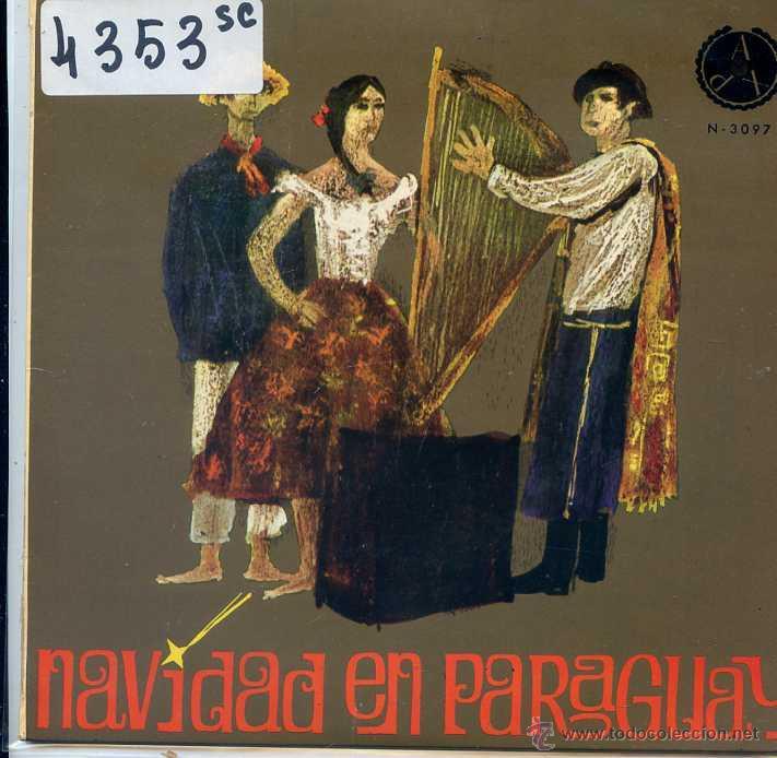 NAVIDAD - NAVIDAD EN PARAGUAY - COLEGIO CRISTO REY / TUPASY CAACUPE + 3 (EP 1967) (Música - Discos de Vinilo - EPs - Otros estilos)