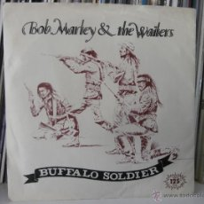 Discos de vinilo: BOB MARLEY - BUFFALO SOLDIER (SG) 1983. Lote 52689387