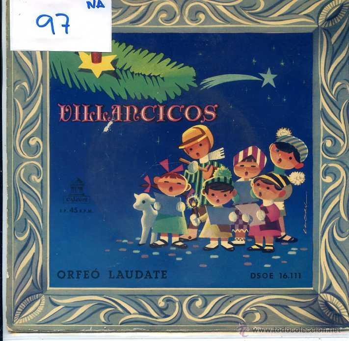 NAVIDAD - ORFEO LAUDATE / ARMEN ESTREPITO + 5 (EP 1959) (Música - Discos de Vinilo - EPs - Otros estilos)