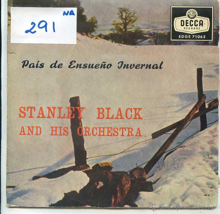 NAVIDAD - STANLEY BLACK / RODOLFO, EL RENO DE LA NARIZ COLORADA + 3 (EP 1959) (Música - Discos de Vinilo - EPs - Otros estilos)