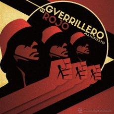 Discos de vinilo: EL GUERRILLERO ROJO - MANIFIESTO - LP ATEMPORAL RECORDS 2015 - AVIADOR DRO. Lote 52693171