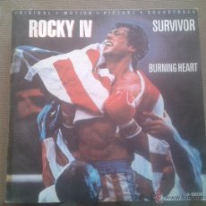 Discos de vinilo: SINGLE - SURVIVOR - BURNING HEART - FEELS LIKE LOVE - 1985. Lote 52695281