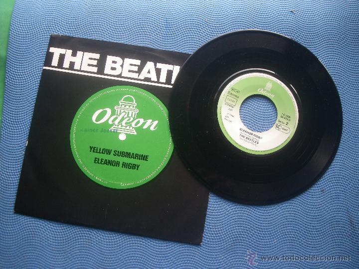 Discos de vinilo: THE BEATLES YELLOW SUBMARINE + 1 single HOLANDA 1966 PDELUXE - Foto 3 - 52695732