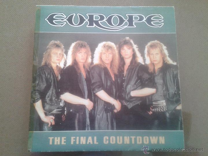 SINGLE - EUROPE - THE FINAL COUNTDOWN - ON BROKEN WINGS - 1986 (Música - Discos - Singles Vinilo - Heavy - Metal)