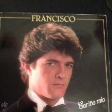 Discos de vinilo: DISCO VINILO LP CARIÑO MÍO .FRANCISCO. Lote 52691500